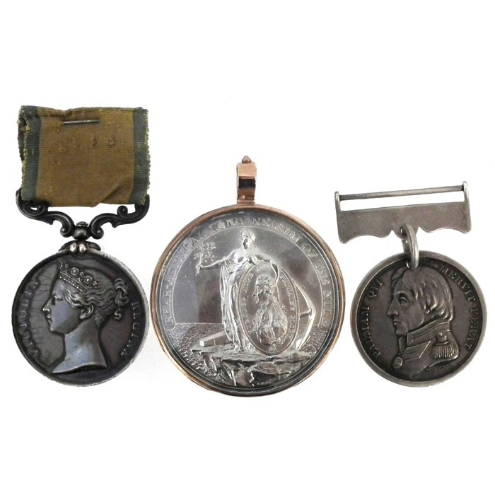 Nelson-related Medals