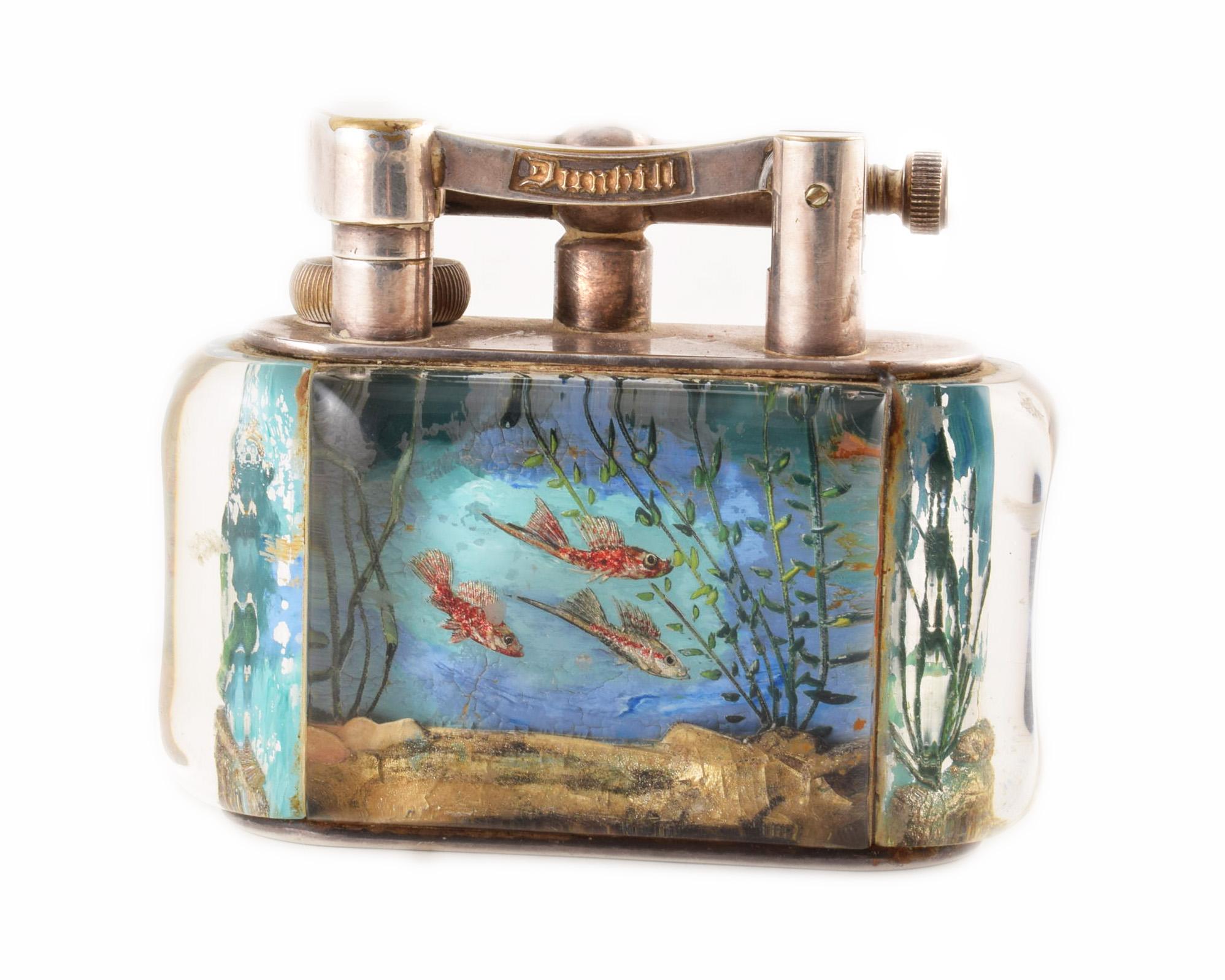 Unique Dunhill Aquarium Lighter