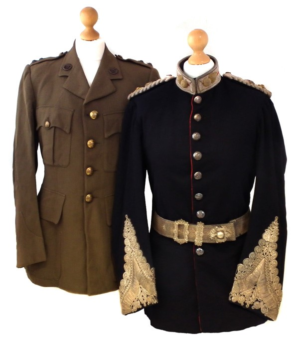 Middlesex Regiment and Duke of Cornwall regiment uniforms