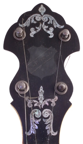 Clifford Essex Banjo headstock