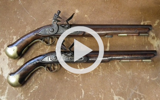 Detecting an expert copy of a Flintlock Sea Service Pistol