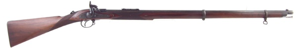 Westley Richards Monkey Tail Rifle with chequered stock