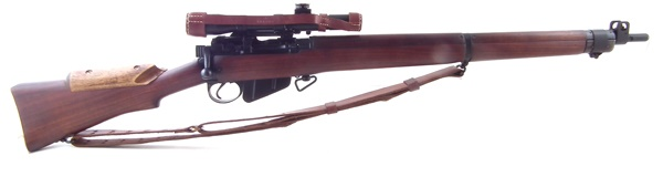 Lee Enfield No.4 T Sniper Rifle