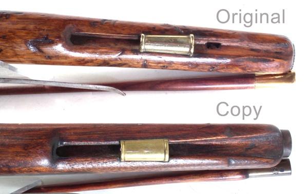 flintlock sea service pistols ramrod