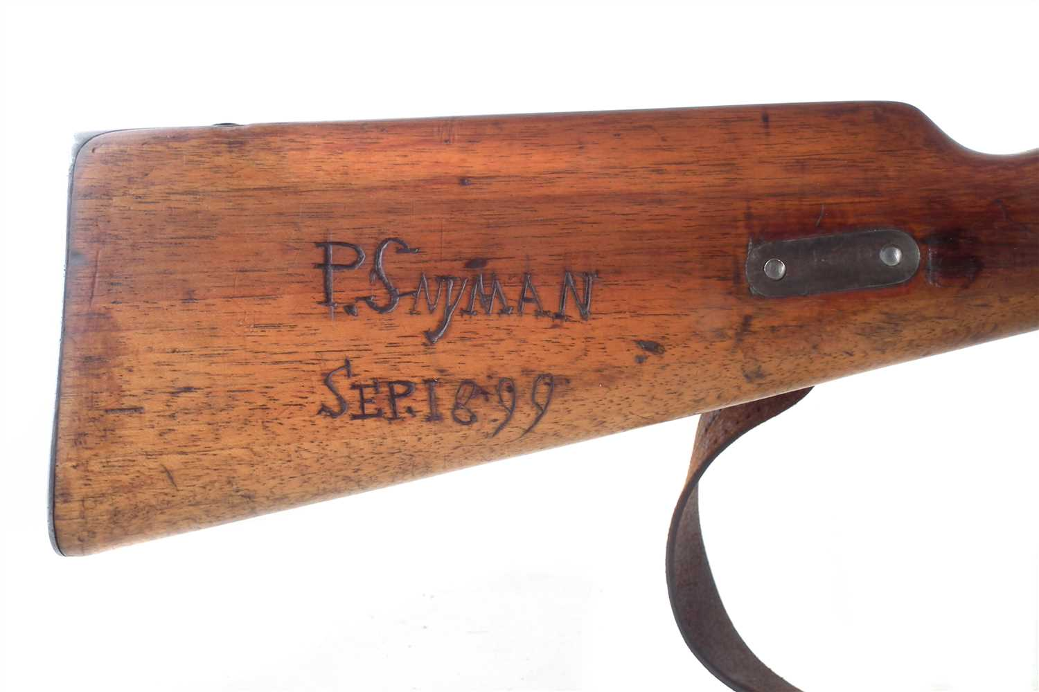Lot 47 - Mauser 7x57 bolt action rifle