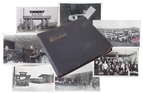 WW2 British POW Stalag IVB photograph album sold £540