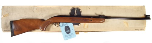BSA Airsporter .177 mint and boxed air rifle sold £300