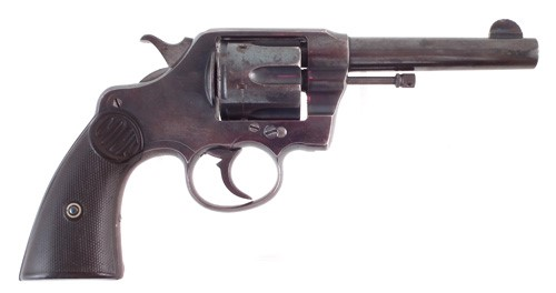 Colt Double Action revolver .41 calibre sold £1,200