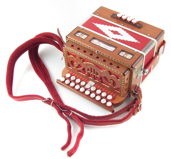 Dino Baffetti Melodion Accordion sold £380