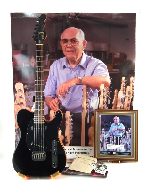 G&L Broadcaster Electric Guitar presented by Leo Fender Sold £1,400