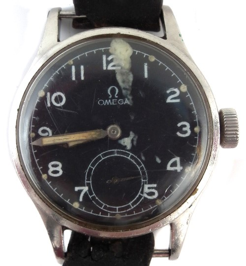 Omega British Military wrist watch sold £650