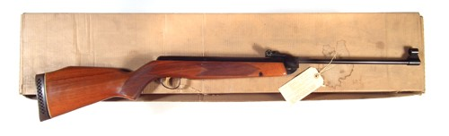 Webley Vulcan .22 mint and boxed air rifle sold £220
