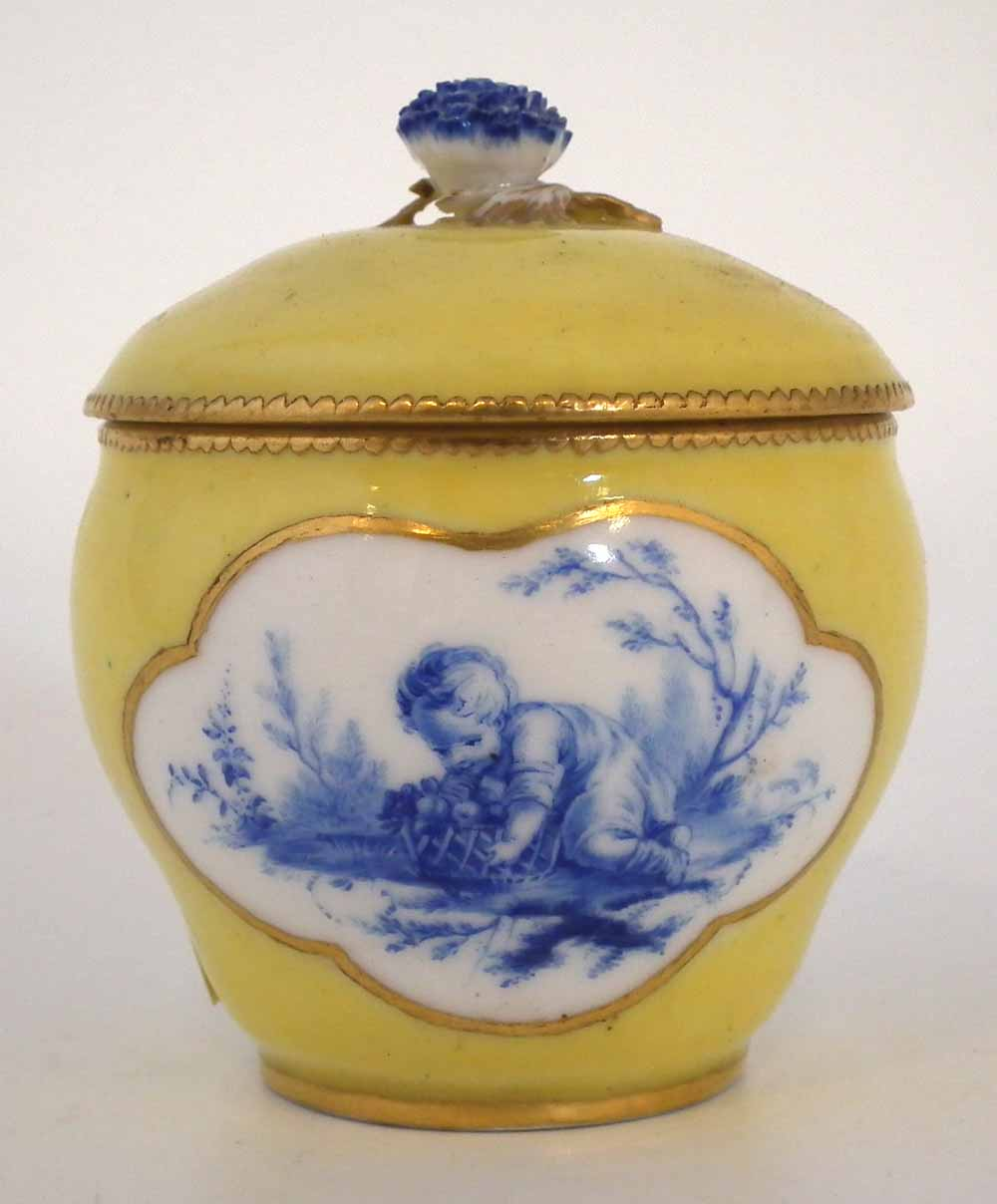 Vincennes sucrier lidded bowl