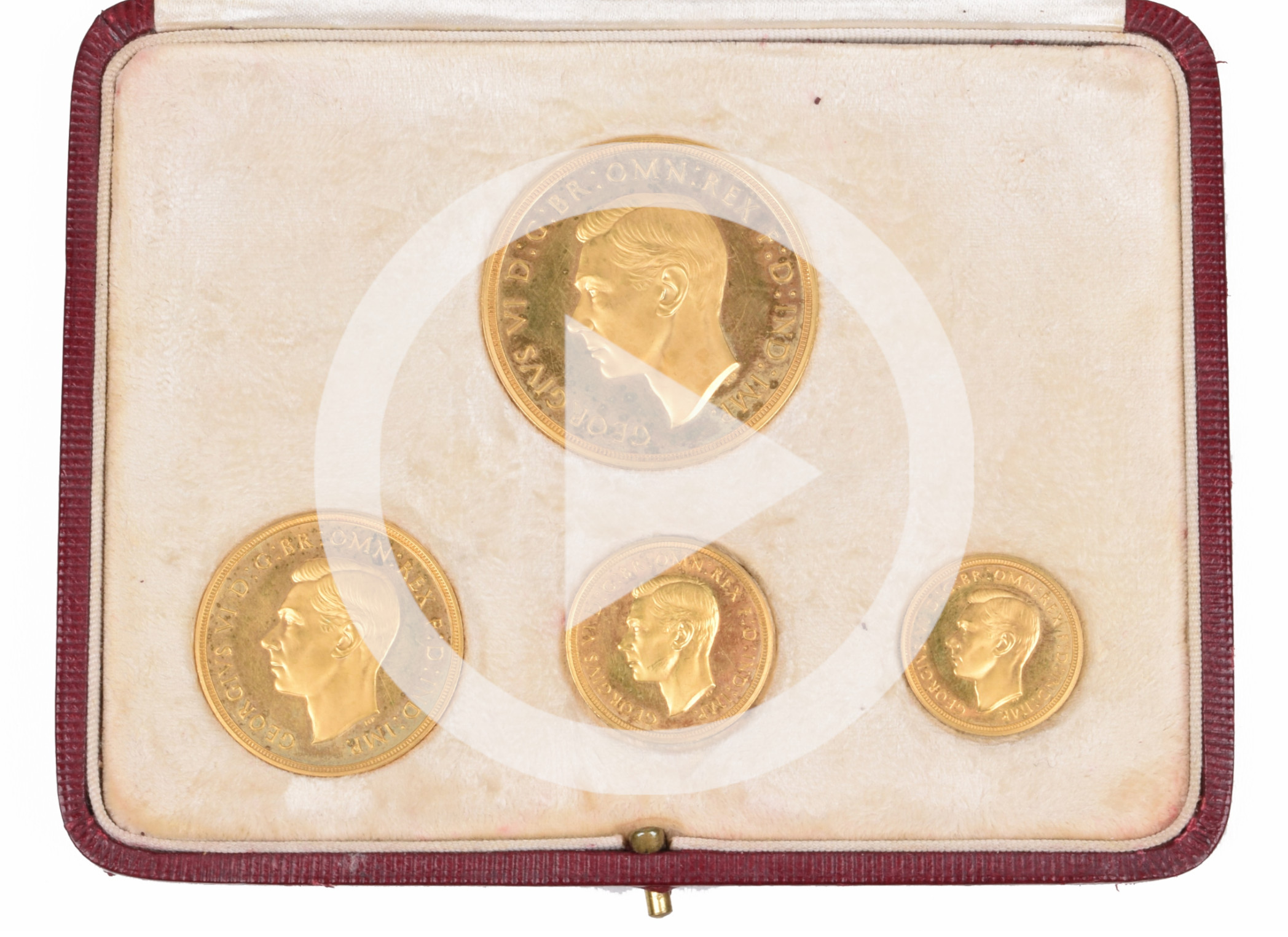 Collection of Gold English Guineas and Sovereigns