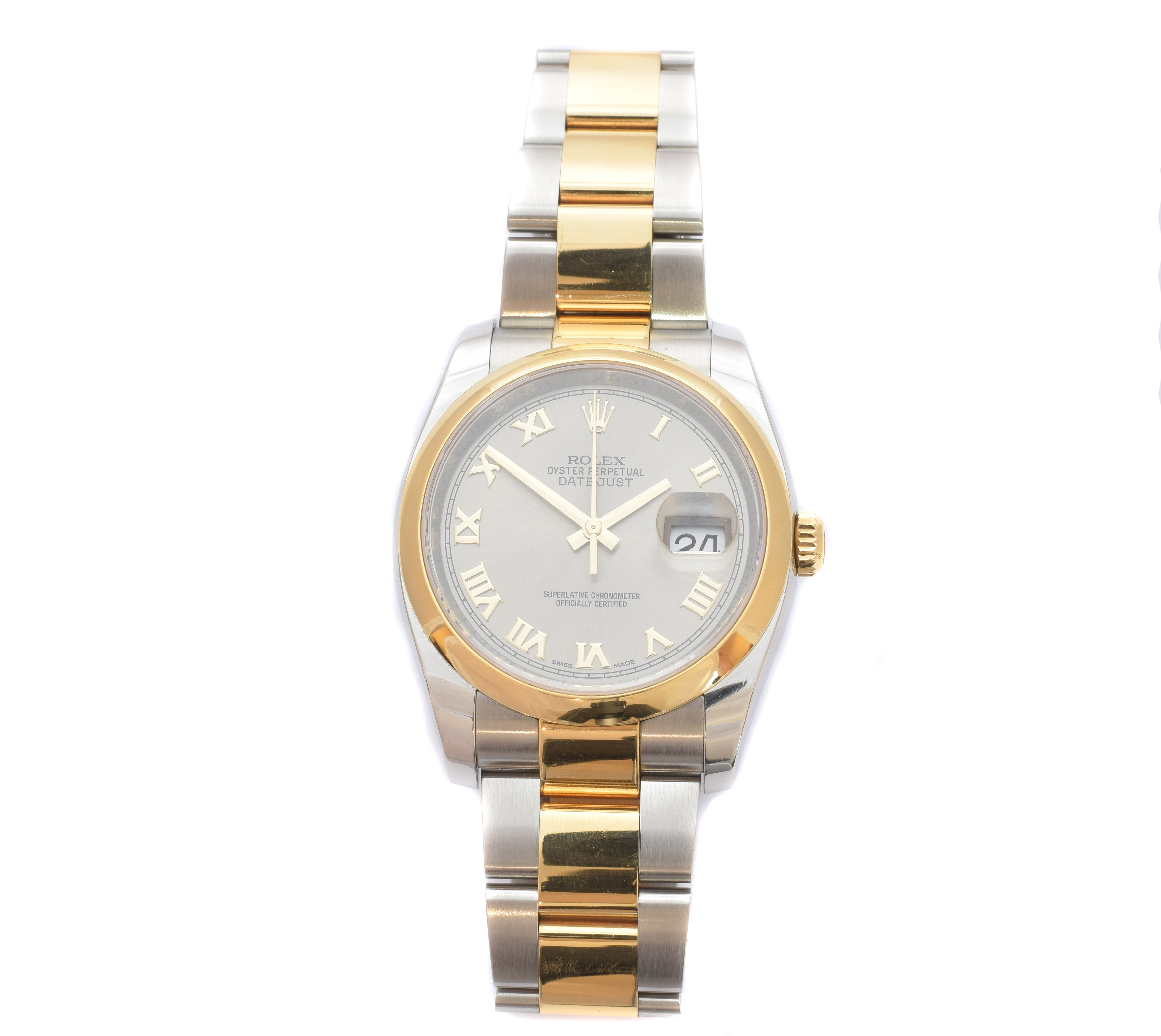 Rolex DateJust Steel and Gold