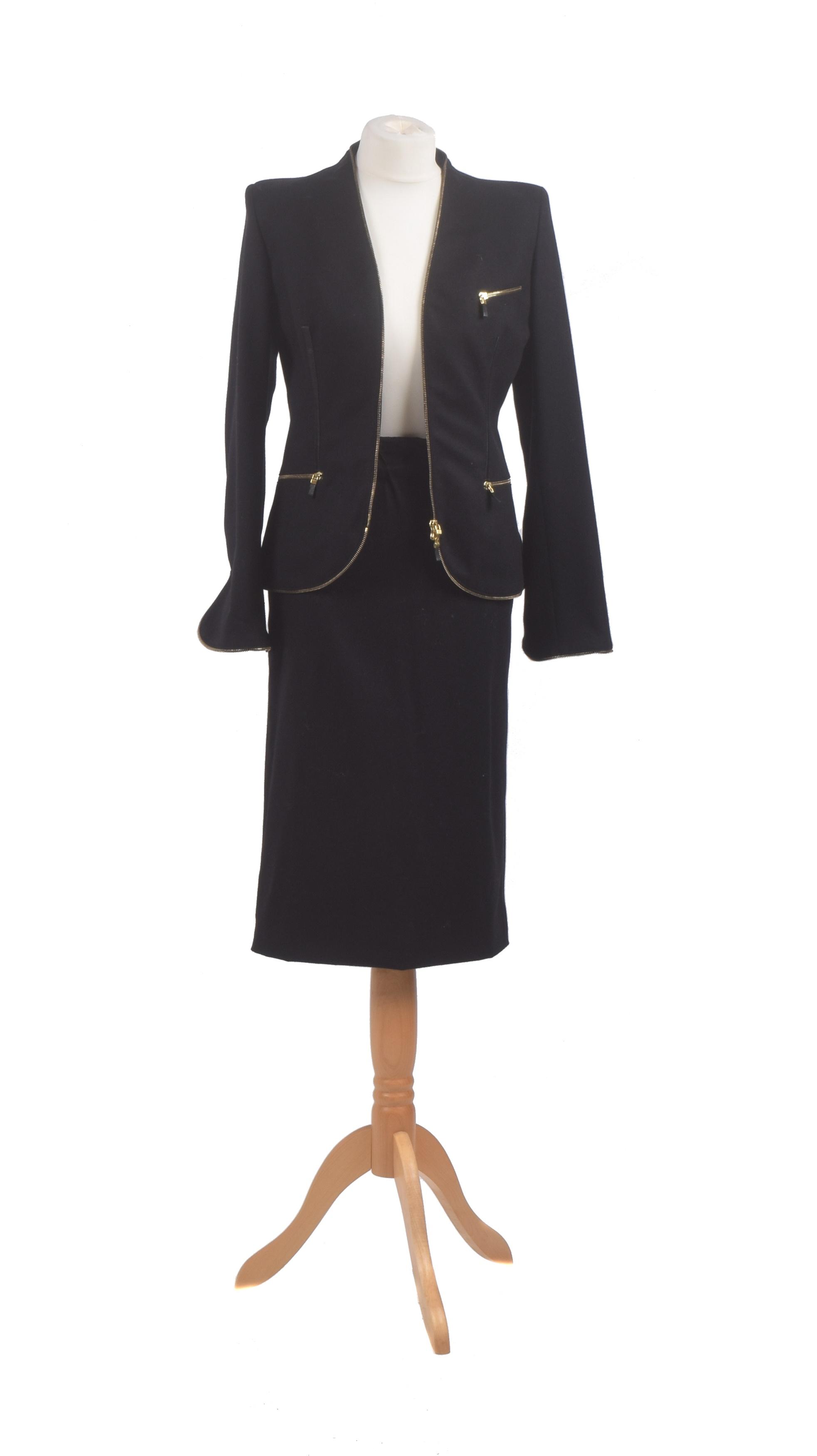 Alexander McQueen wool two piece suit
