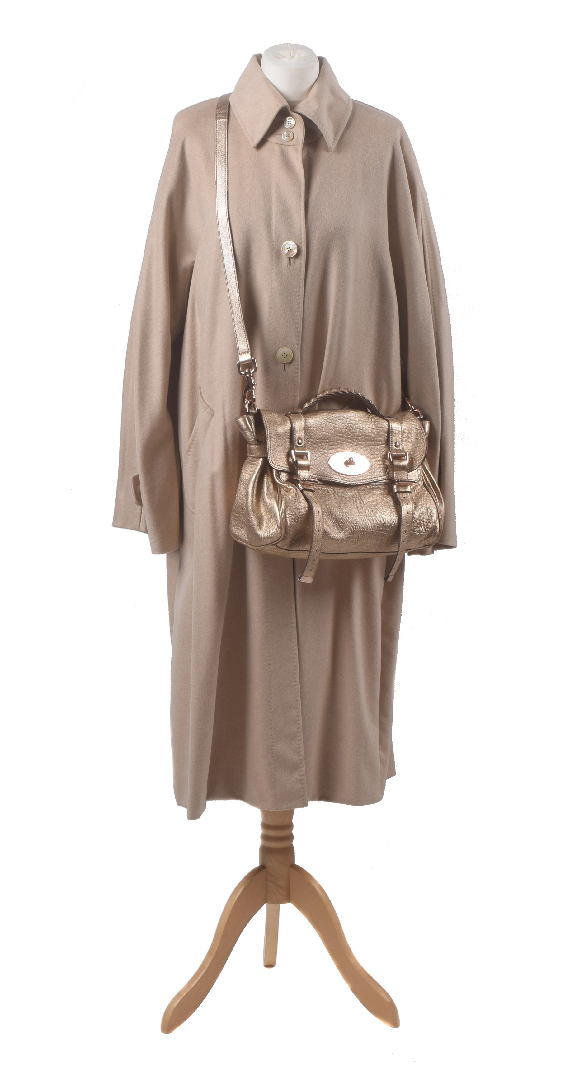 Maxmara wool coat, Mulberry Alexa bag