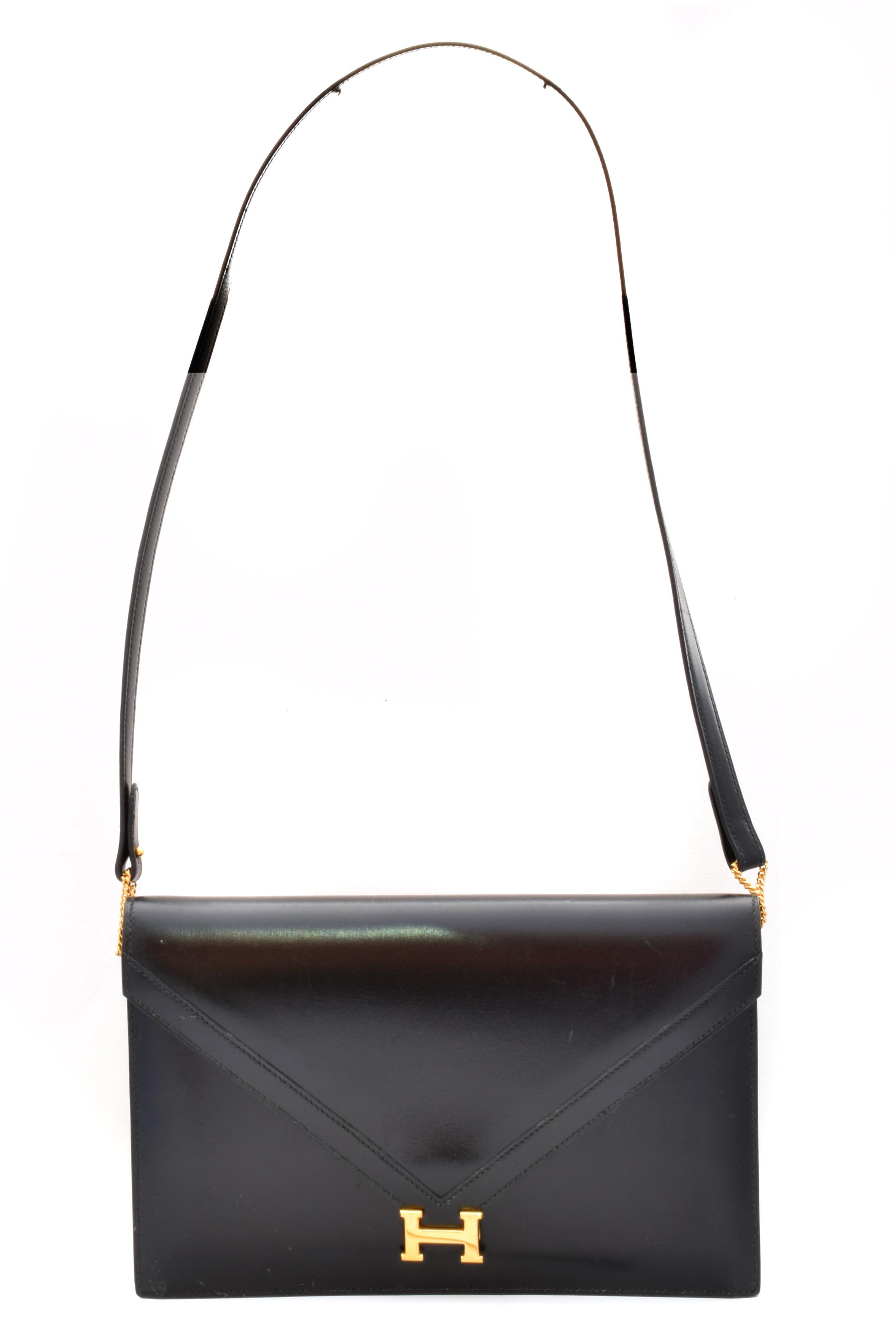 A Hermes Lydie Shoulder Bag, circa 1985,