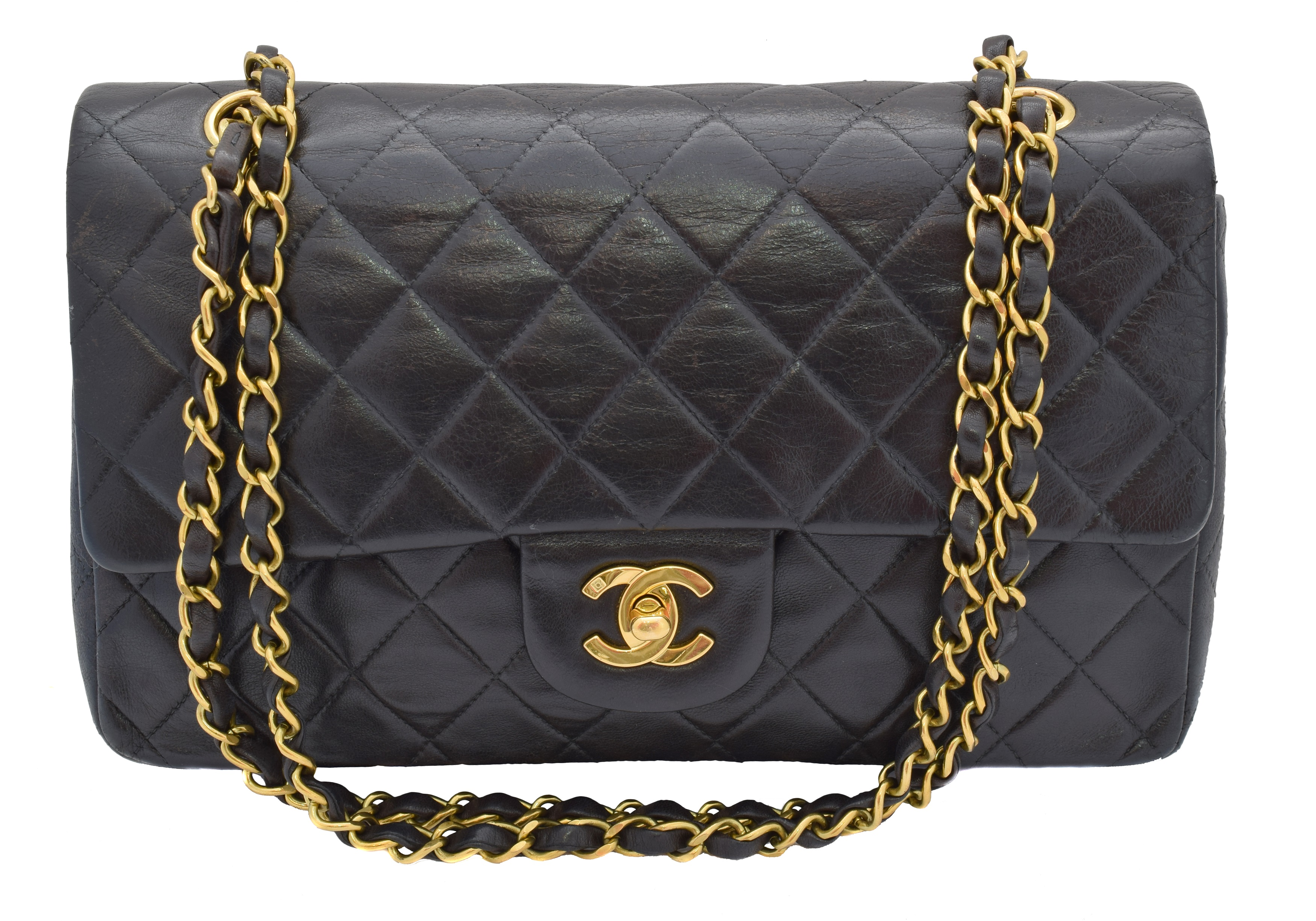 Chanel Classic Double Flap Handbag, c. 1994-1996, sold for £2,400