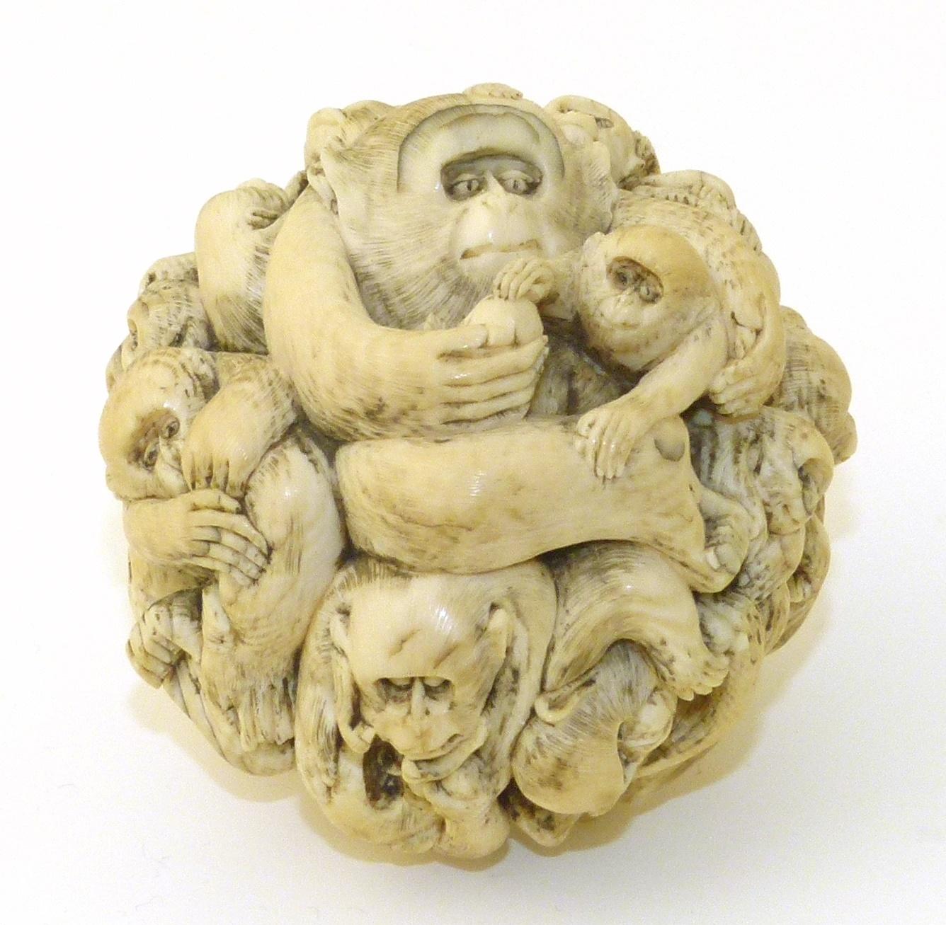 Japanese Ivory Monkey Ball
