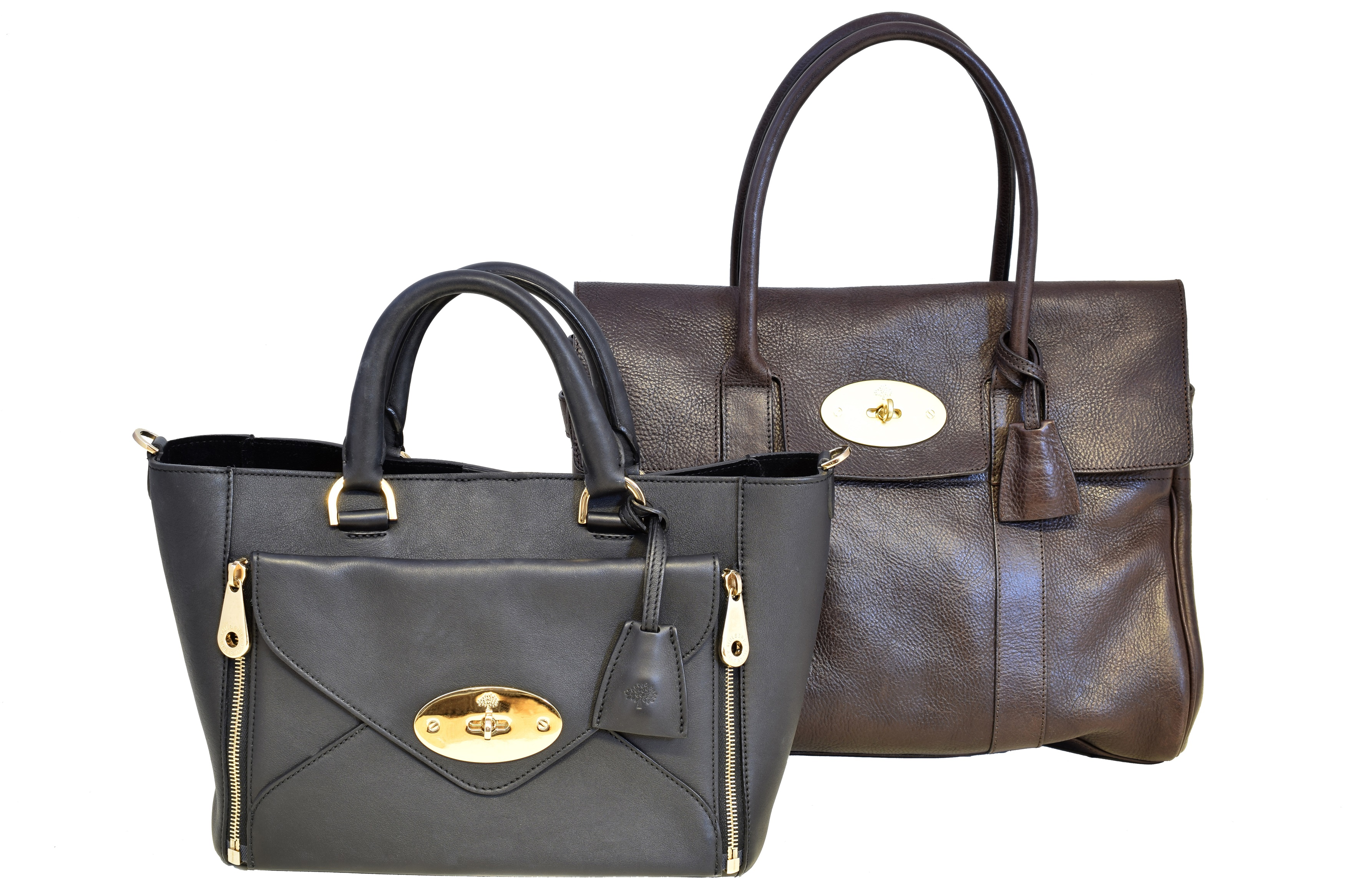 Mulberry Bayswater & Mulberry Willow Bag - Designer Handbag Auctions at Peter Wilson