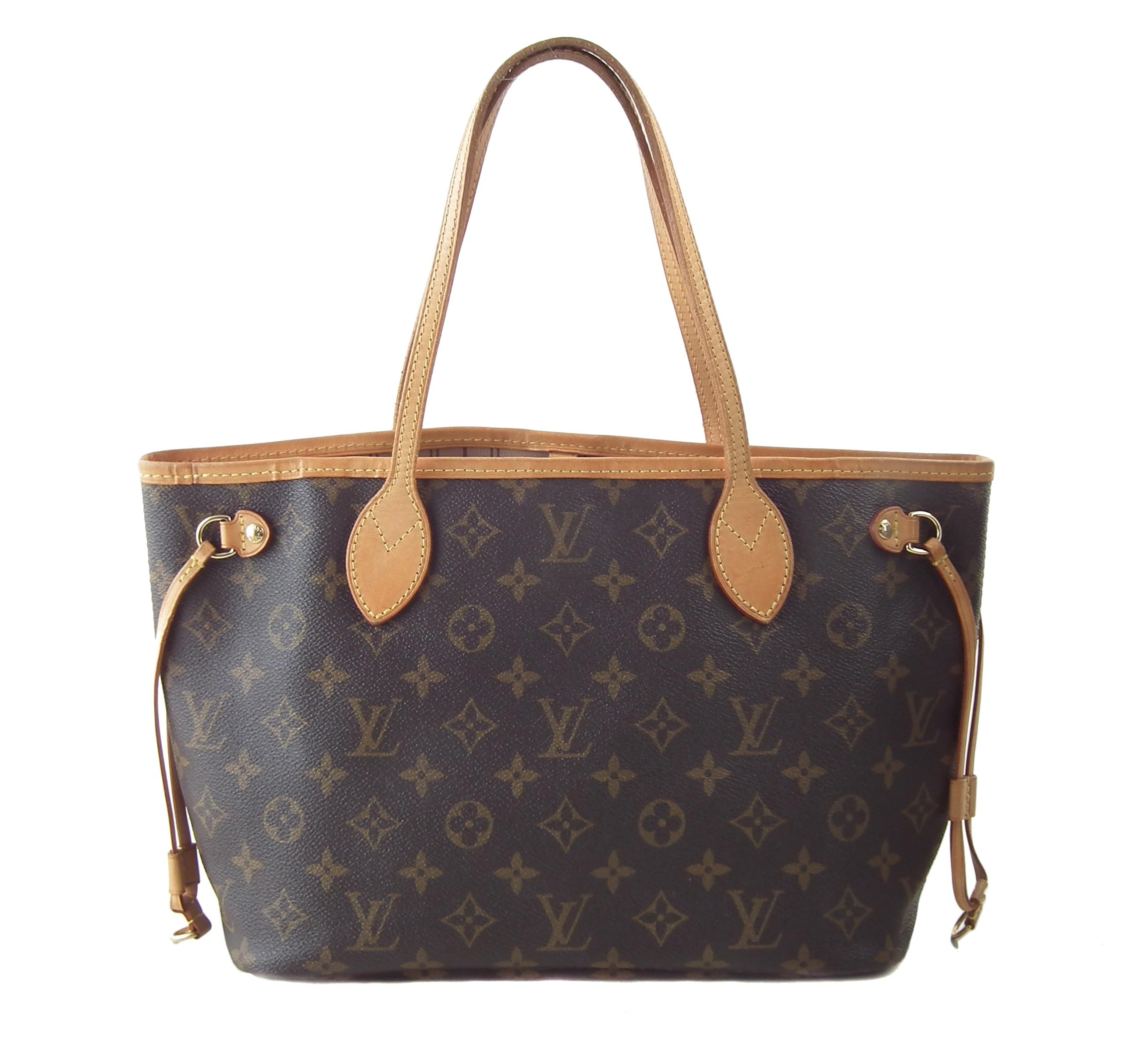 A Louis Vuitton Monogram Neverfull PM handbag