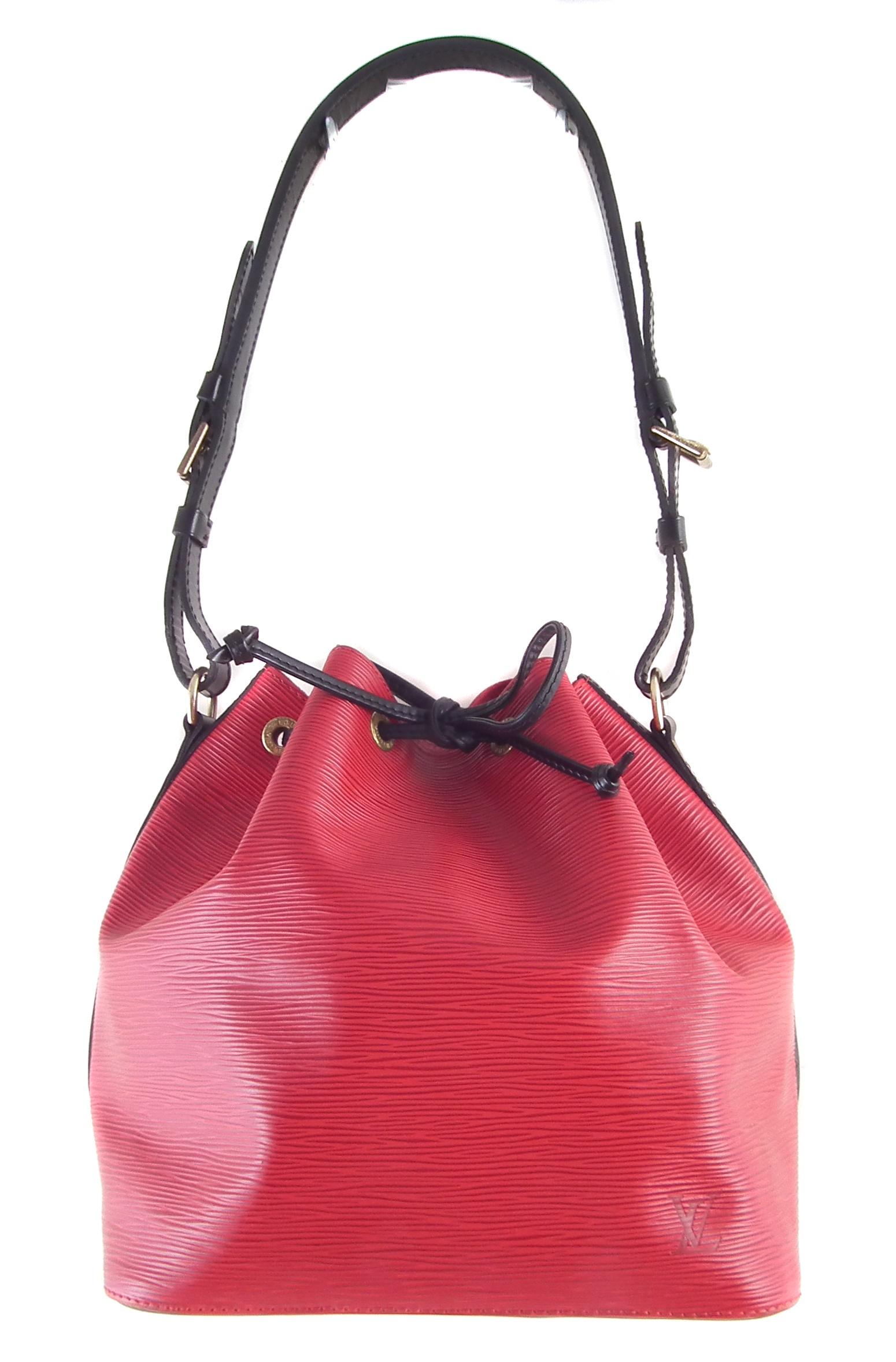 A Louis Vuitton Bicolour Epi Noé PM handbag