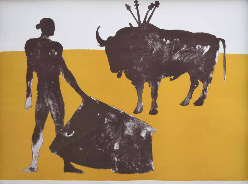 Elisabeth Frink Paintings