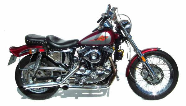 Hog Roast with a Classic Harley
