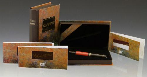 Montblanc Hemingway fountain pen