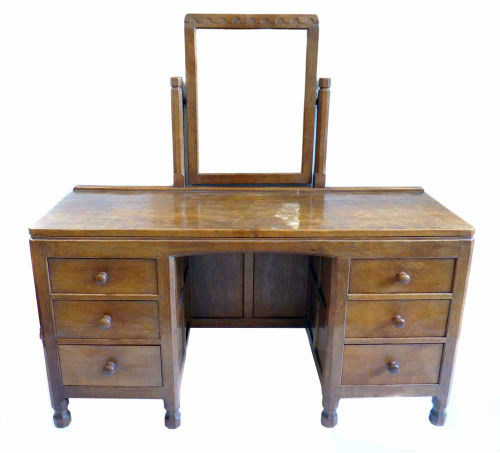 Mouseman Furniture - Mouseman Dressing Table