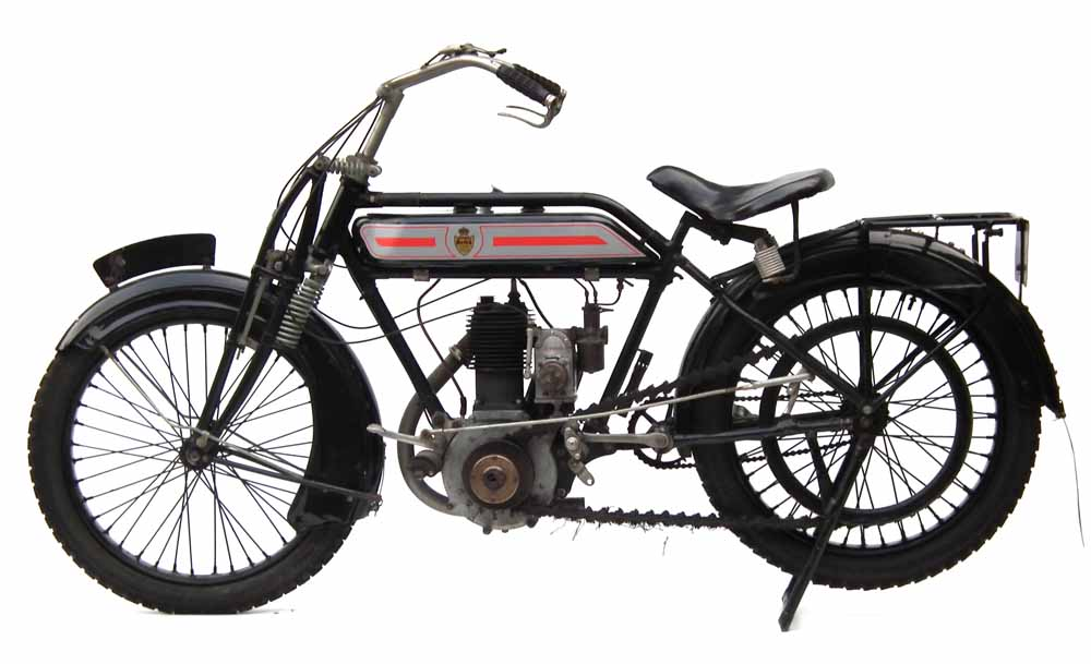 Rover motorbike sold at auction