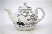 Lot 208-Worcester teapot and cover circa 1755