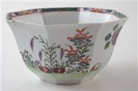 Lot 206-Worcester bowl circa 1753