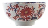Lot 211 - Lowestoft bowl circa 1778