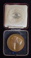 Lot 19-9ct gold National Airedale Terrier Association medal.