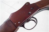 Lot 67-Greener police shotgun Serial No. 0450