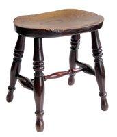 360 - Victorian stool.