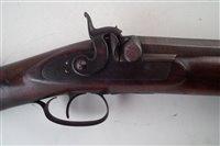 Lot 14-8-bore Wildfowling gun by H.C. Burt, Yarmouth