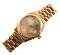 174 - Gent's Rolex Oyster Perpetual Day-Date 18ct gold bracelet watch