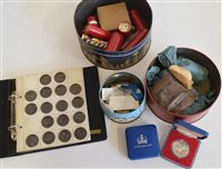 Lot 32-Large collection of modern GB coinage from Victoria - QEII period including many Halfcrowns.
