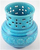 Lot 46-Burmantofts vase.