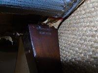 Lot 361-Late 19th century upholstered sofa, Howard & Son's Ltd.