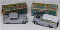 """Lot 75 - Two Spot-On vehicles, L.W.B. Land Rover No. 161 and Armstrong Siddeley """"Sapphire"""" complete with boxes."""