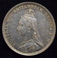 Lot 35-Queen Victoria, Groat, 1888.