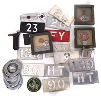 Lot 41-Collection of London bus related items