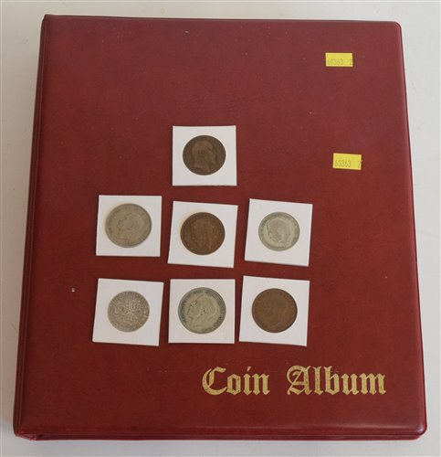 Lot 53 - An album of modern Great Britain coinage from Queen Victoria...