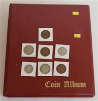 Lot 53-An album of modern Great Britain coinage from Queen Victoria through to Queen Elizabeth II.