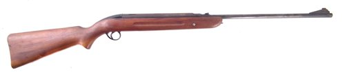 Lot 85-BSA Airsporter .22 air rifle (sear faulty)