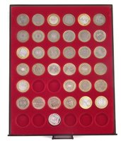 Lot 36-One tray of Royal Mint, Queen Elizabeth II, Two Pound proof and circulated coins.